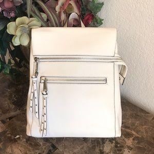 JANE                  Pebble Leather Backpack